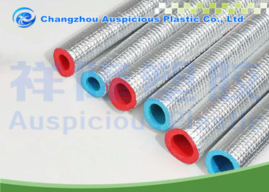 Heat Resistant Polyethylene Pipe Insulation Waterproof With Aluminum Foil
