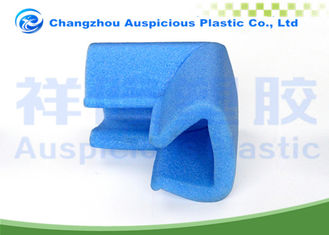Blue Color EPE Foam Corner Protectors For Glass Table Corner