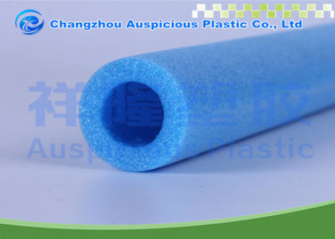Durable Extruded Polyethylene EPE Foam Pipe Wrap 9mm Thickness In Blue Color