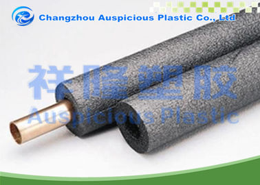 Copper Pipe Using PE Grey Foam Pipe Insulation With Wide Selection Of Sizes