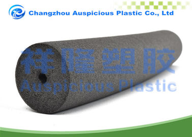 Black Color Eope Material Foam Pipe Insulation With Customizes Diameter