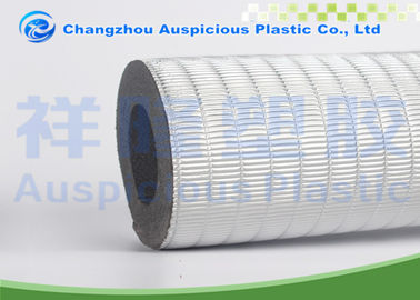 Insulated Foam Pipe Covers Faced With Aluminum Foil For Heat Insulation