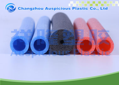 Extruded Pe Colored Foam Pipe Insulation For Cold Pipe Heat Loss Prevention