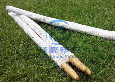 Eco - Friendly Foam Fruit Net EPE Foam Sleeve Protective For Vegetables