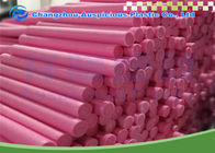 China Pink Color EPE Foam Roller With High Density , Yoga Back Roller Long Life company