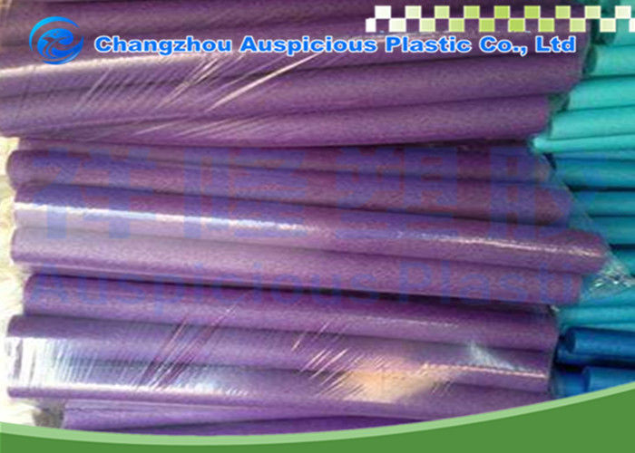 Purple Foam Pool Noodles Multiple Function For Adult / Kids Eco Friendly